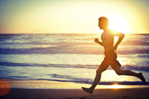 John Bohonyi Beach Running Summer Fitness